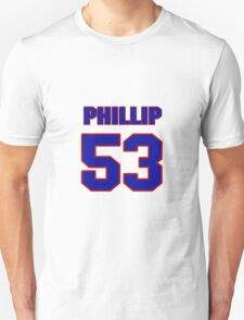 National football player Phillip Steward jersey 53 T-Shirt