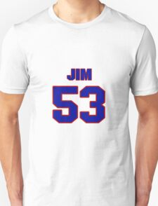 National football player Jim Sweeney jersey 53 T-Shirt