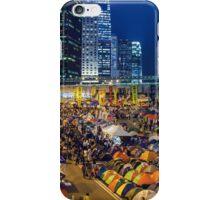 Umbrella Revolution in Hong Kong 2014 iPhone Case/Skin