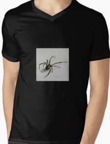 Black Widow Spider Mens V-Neck T-Shirt
