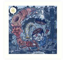 Oyster Song. Art Print