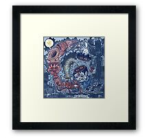 Oyster Song. Framed Print