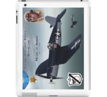 "Medal of Honor ""Pappy"" Boyington iPad Case/Skin"