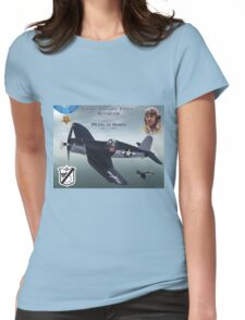 """Medal of Honor """"Pappy"""" Boyington Womens Fitted T-Shirt"""