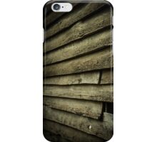 Wood Slat Wall iPhone Case/Skin