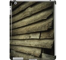Wood Slat Wall iPad Case/Skin