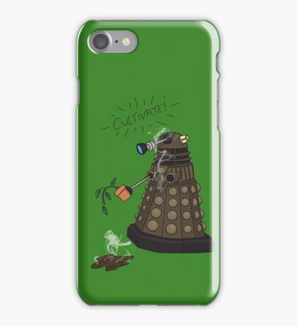 Dalek Retrement - Dr Who's Orders | CULTIVATE iPhone Case/Skin