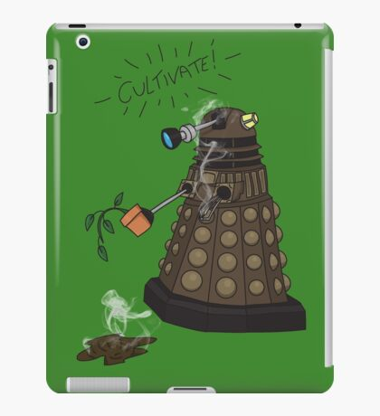 Dalek Retrement - Dr Who's Orders   CULTIVATE iPad Case/Skin