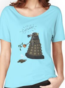 Dalek Retrement - Dr Who's Orders | CULTIVATE Women's Relaxed Fit T-Shirt