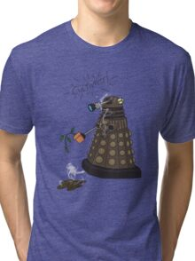 Dalek Retrement - Dr Who's Orders | CULTIVATE Tri-blend T-Shirt