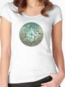 crystallizis 2 Women's Fitted Scoop T-Shirt