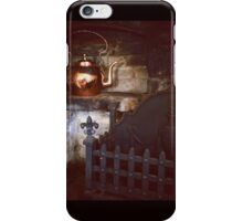 Rustic Fireplace with Copper Kettle iPhone Case/Skin