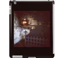 Rustic Fireplace with Copper Kettle iPad Case/Skin