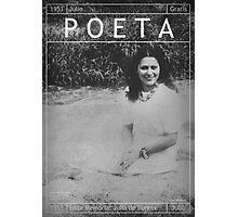 Poeta: Julia de Burgos Photographic Print
