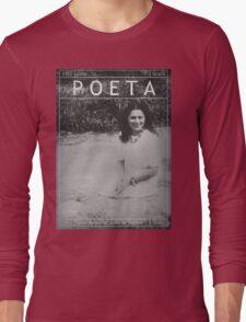 Poeta: Julia de Burgos Long Sleeve T-Shirt
