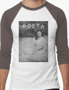 Poeta: Julia de Burgos Men's Baseball ¾ T-Shirt