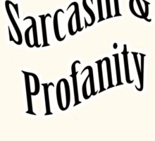 English Sarcasm and Profanity Sticker