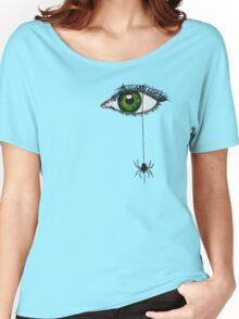 Spider Eye Women's Relaxed Fit T-Shirt