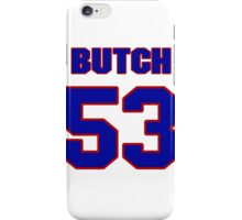 National football player Butch Maples jersey 53 iPhone Case/Skin