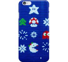 8-bit Christmas Tree Graffiti  iPhone Case/Skin