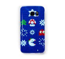 8-bit Christmas Tree Graffiti  Samsung Galaxy Case/Skin