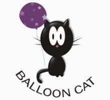 BALLOON CAT by carol oakes