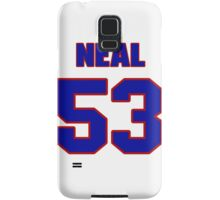 National football player Neal Musser jersey 53 Samsung Galaxy Case/Skin