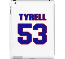 National football player Tyrell Peters jersey 53 iPad Case/Skin