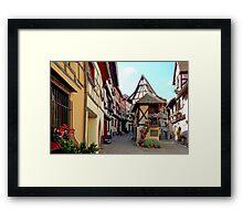 Eguisheim - Alsace - France Framed Print