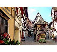 Eguisheim - Alsace - France Photographic Print