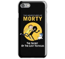 The Secret of the Lost Testicles iPhone Case/Skin