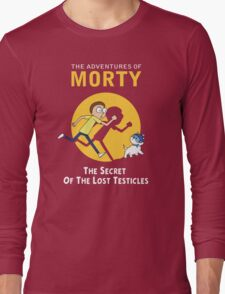 The Secret of the Lost Testicles Long Sleeve T-Shirt