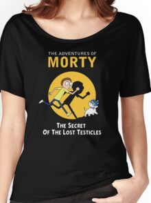 The Secret of the Lost Testicles Women's Relaxed Fit T-Shirt