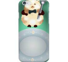 dinner time hamster iPhone Case/Skin