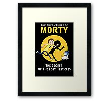 The Secret of the Lost Testicles Framed Print