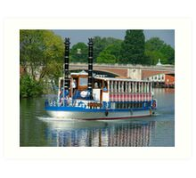 Southern Belle on the Thames Art Print