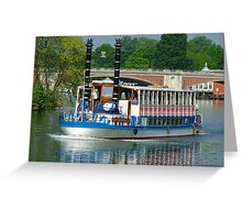 Southern Belle on the Thames Greeting Card