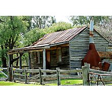 Cottage at Costerfield VIctoria Photographic Print