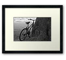 lean on me Framed Print