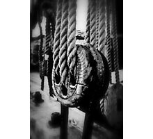 Pulley Photographic Print