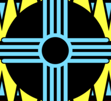 New Mexico Compass Sticker