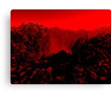 Hot Planet Canvas Print