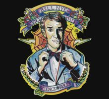 Bill Nye the Science Guy One Piece - Short Sleeve