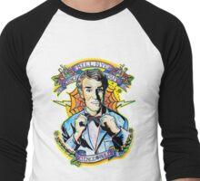 Bill Nye the Science Guy Men's Baseball ¾ T-Shirt