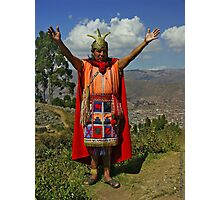 King of Incas Photographic Print