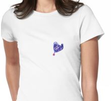 a mess Womens Fitted T-Shirt