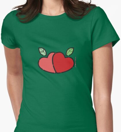Adam's Apple ... Womens Fitted T-Shirt