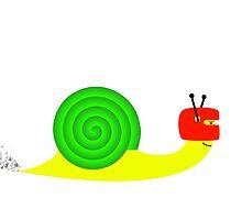 Snappy snail  by klaaseng