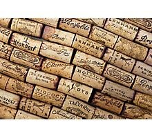 Wine Corks 1 Photographic Print