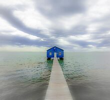 Boatshed by Neil Bushby